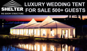 SHELTER Weddding Tents - Party Tent - Reception Marquee - Catering Marqueeq for Sale -7