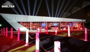 Exhibition tent - custom design marquee - bespoke tent for promotion - custom made canopy - canvas for brand promotion - pavilion for social events (18)