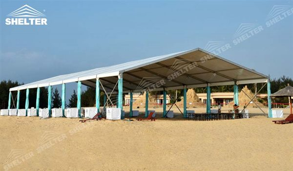 Wedding Marquee - small marquee - tents canopy for outdoor show - fashion show structure - & Wedding Marquee - Aluminum Tent Shed For Seaside Wedding u0026 Catering