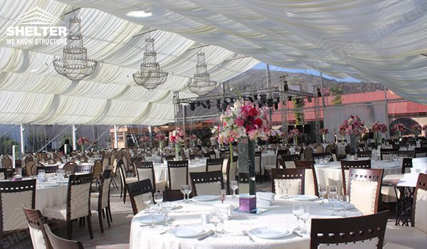 wedding marquee - pavilion for luxury wedding ceremony - canopy for outdoor party - wedding on seaside - in hotel - Shelter aluminum structures for sale (291)