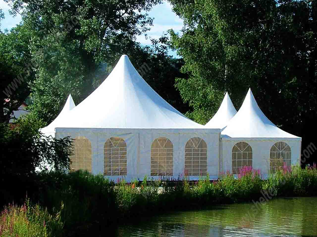Garden Pagoda Party Marquee Holiday Tent