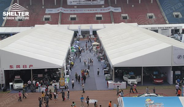 65 A Frame Tent For Large Scale Auto Trade Show Or Annual