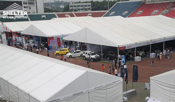 mercial Exhibition Tent Marquee for car concour auction trade show