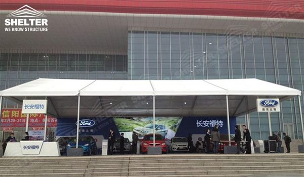 Portable Exhibition Tents : Clear span tent for auto exhibition canopy
