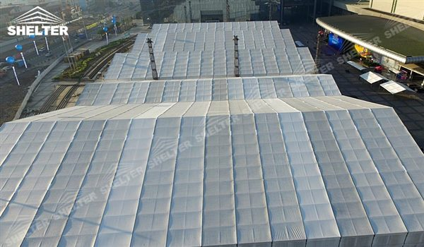 big tents - marquee for large scale exhibitions - tent canopy for expositions - trade show tents - canvas for fair - Shelter aluminum structures for sale (72)