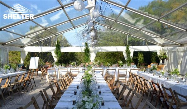 clear top - wedding marquee - pavilion for luxury wedding ceremony - canopy for outdoor party & Clear Tent Sales for A Romantic Wedding Outdoor in a Winery Farmhouse