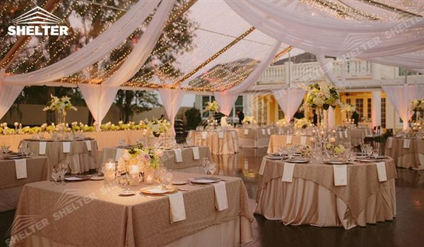 wedding tents - wedding marquee - pavilion for luxury wedding ceremony - canopy for outdoor party & Wedding Tents holding 200 to 300ppl for Ceremony in Vineyard