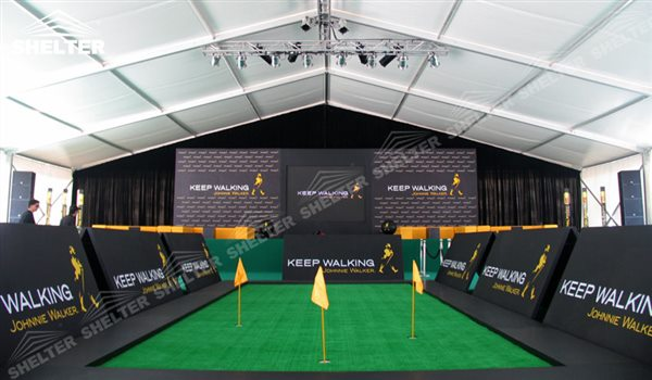 custom designed tent - marquee for large scale exhibitions - tent canopy for expositions - trade : custom event tent - memphite.com