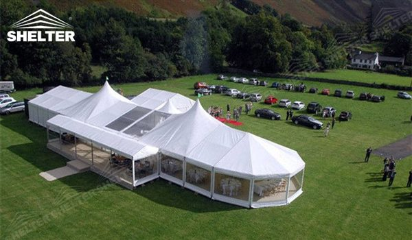 Bellend tent marquee in mixed shapes sales for outdoor party for Party house for sale