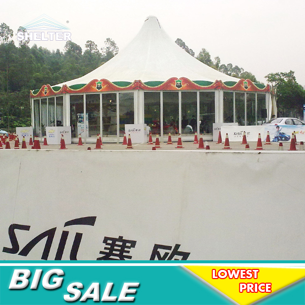 Polygonal tent for events shelter 10 sides tent · « & Polygonal tent for events shelter 10 sides tent 04 - Wedding Tents ...