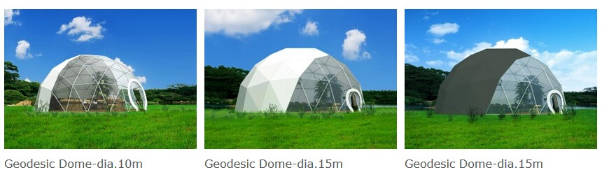 Half clear geodesic dome marquees 20m for business promotions - The geodesic dome in connecticut call of earth ...