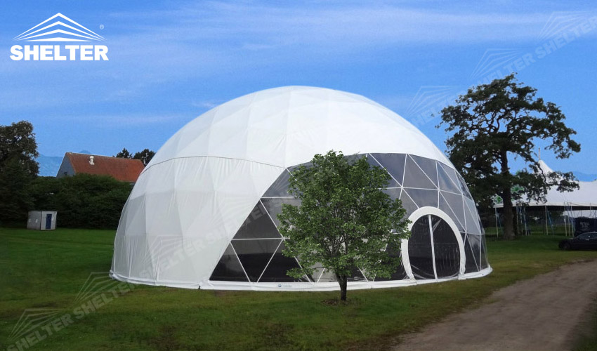 Outdoor Event Domes Host 500 People