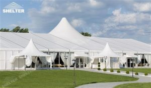 20 x 30 Party Tent - mixed party tent - multi shape marquee - canopy for wedding ceremony - Shelter aluminum structures for sale (2)