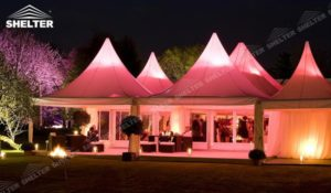 Wedding reception tent-catering tents-wedding marquee for sale-Shelter party tent (9)