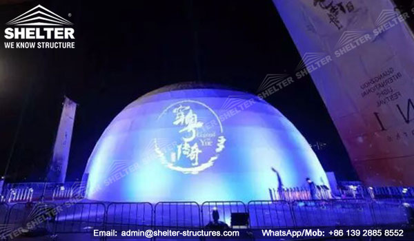 Projection dome - immersive multimedia projection dome in education, business and entertainment, dome classroom, geodesic projection - shelter dome structures (20)