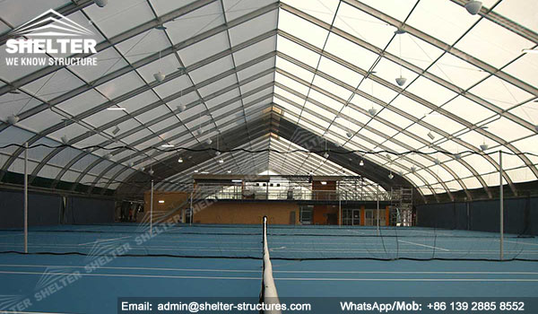 Fabric Structure - sports-structures-indoor-swimming-pool-court-shed & Fabric Structure for Indoor Tennis Court - Aluminum Tent Shed for ...