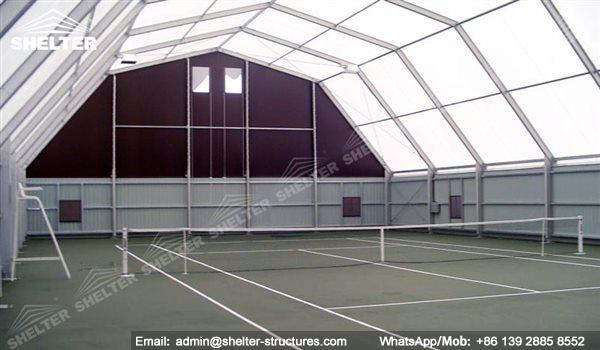 Fabric Structure For Indoor Tennis Court Aluminum Tent
