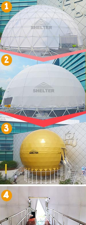 Dome-theater---rigid-domes---Geodesic-dome---spherical-tent---Dia.10m-720°-full-sphere-projection-dome----digital-display-showroom-(500)