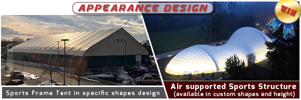temporary sports structures - advantages of a clear span sports court cover - fabric frame tent - clear span sports arena (2)