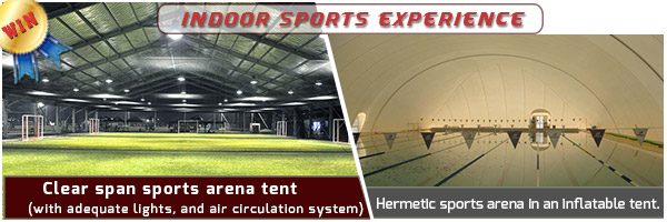 temporary sports structures - advantages of a clear span sports court cover - fabric frame tent - clear span sports arena (4)