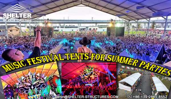 tents for party - event tent marquee solutions - temporary clear span tent structures for sale & Clear Span Tents for Party - Big Music Festival Tent Solutions For ...