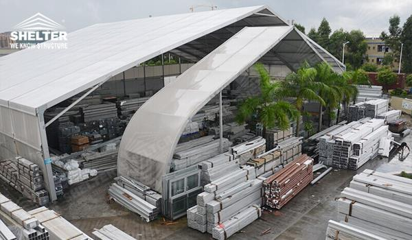 Shelter aluminum tent structures supplier
