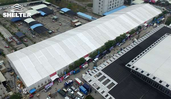 expo tent - marquee for large scale exhibitions - tent canopy for expositions - trade show tents - canvas for fair - Shelter aluminum structures for sale (27)