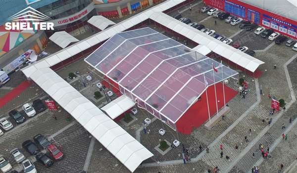 expo tent - tent canopy for expositions - trade show tents - canvas for fair - Shelter aluminum structures for sale (28)