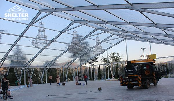 royal wedding - wedding marquee - pavilion for luxury wedding ceremony - canopy for outdoor party - wedding on seaside - in hotel - Shelter aluminum structures for sale (32)