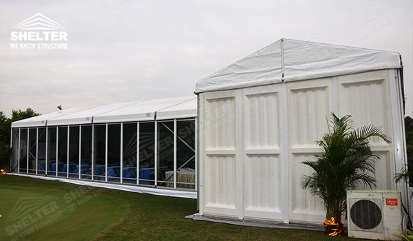 Event Tent - small marquee - tents canopy for outdoor show - fashion show structure - pavilion for lawn party - shed for outdoor weddings - aluminum canvas for grass wedding ceremony (5zzz)