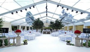 wedding tent - wedding marquee - pavilion for luxury wedding ceremony - canopy for outdoor party - wedding on seaside - in hotel - Shelter aluminum structures for sale (232)