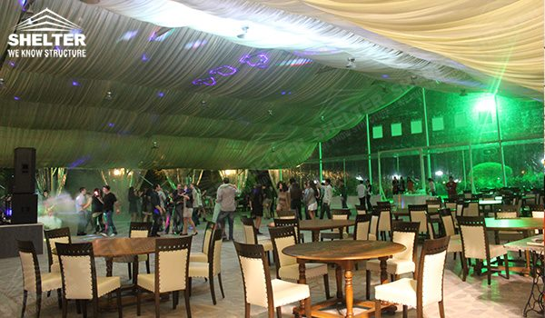 royal wedding - wedding marquee - pavilion for luxury wedding ceremony - canopy for outdoor party - wedding on seaside - in hotel - Shelter aluminum structures for sale (284)