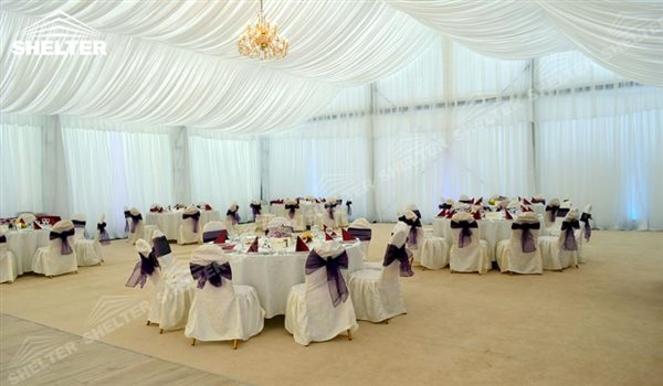 Clear Reception Tents Clear Reception Tents Wedding