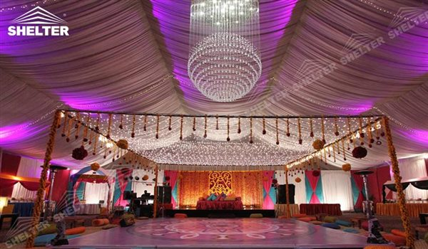 Outdoor wedding tents sales for exotic arabia ceremony for Hotel decor for sale