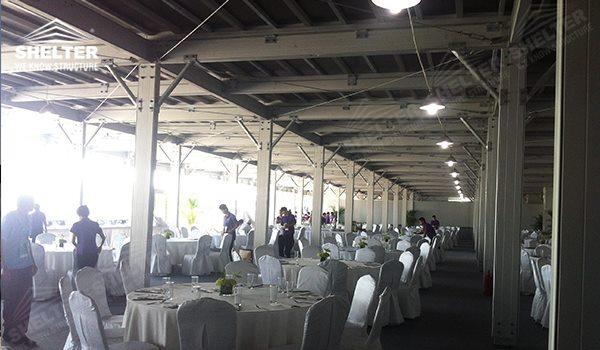 2014 Wta Wuhan Opan High Peak Gazebo Canopy Wedding Reception