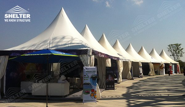 2014 Wta Wuhan Opan High Peak Gazebo Canopy Wedding Reception