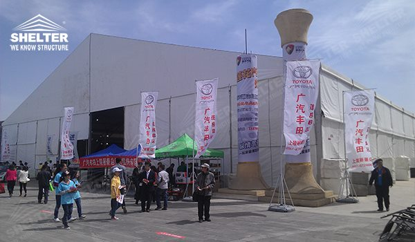 Commercial Tent - auto exhibition tents - car show exposition tent - Motorcycle Exhibition marquees - tents for internatinal expo - Shelter exhibition canopy for sales in California 201_Jc