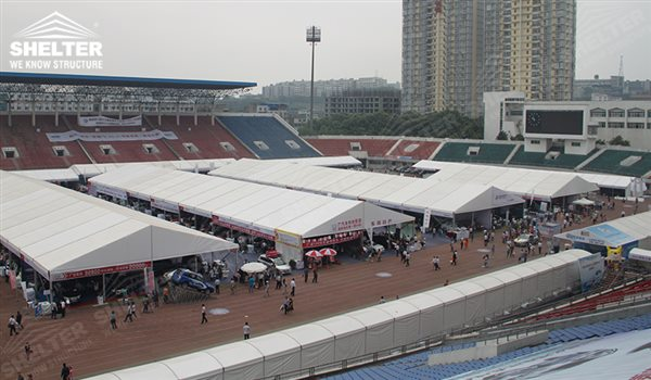 A frame tent - auto exhibition tents - car show exposition tent - Motorcycle Exhibition marquees - tents for internatinal expo - Shelter exhibition canopy for sales in Malaysia, Thailand,Paksitan