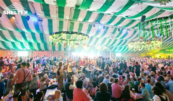 Canopy Tent - beer tent - marquee canopy for okdoberfest - large pavilion for outdoor beer festival - canvas shed for carnival (1)