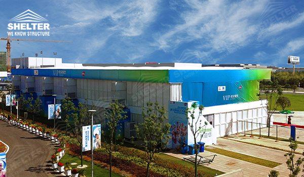 2014 WTA Wuhan Opan - double decker tents - two floor marquee - double floor canopy - double deck or two deck pavilions (000vz)