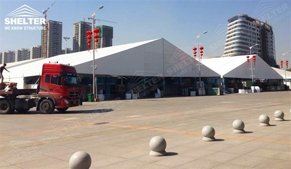 marquee for large scale exhibitions - tent canopy for expositions - trade show tents - canvas for fair - Shelter aluminum structures for sale (106)