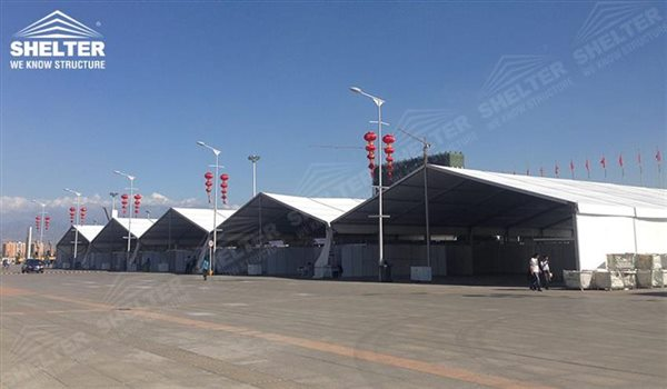 marquee for large scale exhibitions - tent canopy for expositions - trade show tents - canvas for fair - Shelter aluminum structures for sale (107)