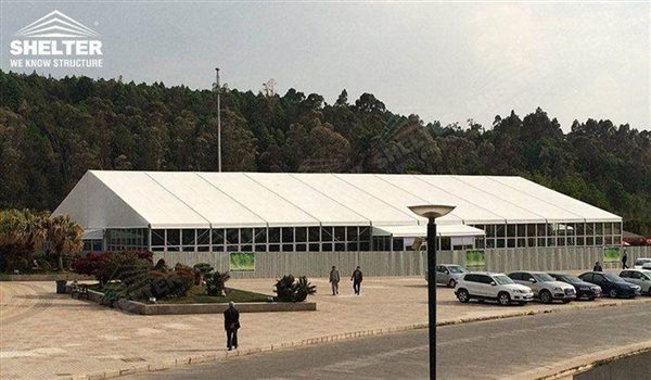 Tents shed - marquee for large scale exhibitions - tent canopy for expositions - trade show tents - canvas for fair - Shelter aluminum structures for sale (2)