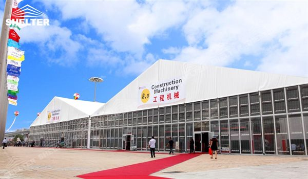 commercial tents - marquee for large scale exhibitions - tent canopy for expositions - trade show tents - canvas for fair - Shelter aluminum structures for sale (20)