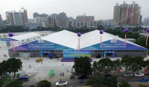 trade show canopy - marquee for large scale exhibitions - tent canopy for expositions - trade show tents - canvas for fair - Shelter aluminum structures for sale (68)