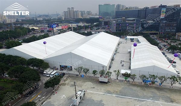 trade show canopy - marquee for large scale exhibitions - tent canopy for expositions - trade show tents - canvas for fair - Shelter aluminum structures for sale (70)