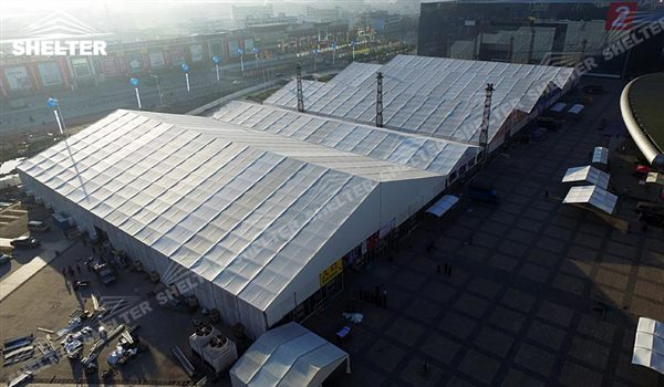 big tents - marquee for large scale exhibitions - tent canopy for expositions - trade show tents - canvas for fair - Shelter aluminum structures for sale (71)
