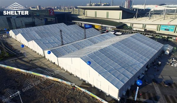 big tents - marquee for large scale exhibitions - tent canopy for expositions - trade show tents - canvas for fair - Shelter aluminum structures for sale (73)