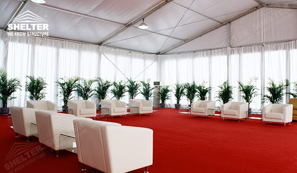 temporary structure - event tent for sale - marquee for social events - large exhibition tents - tent canopy for exposition - musical festival pavilion - canvas for fari carnival (1500)_Jc