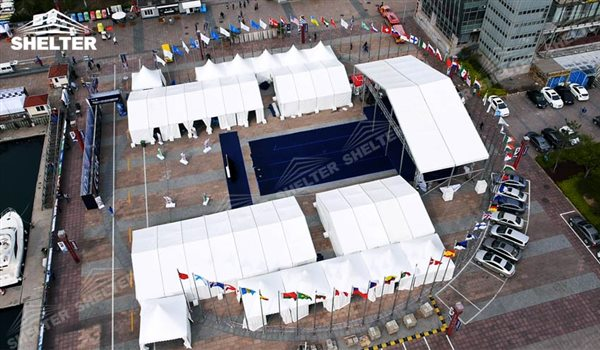 tent for exposition - marquee for social events - large exhibition tents - tent canopy for exposition - musical festival pavilion - canvas for fari carnival (19)